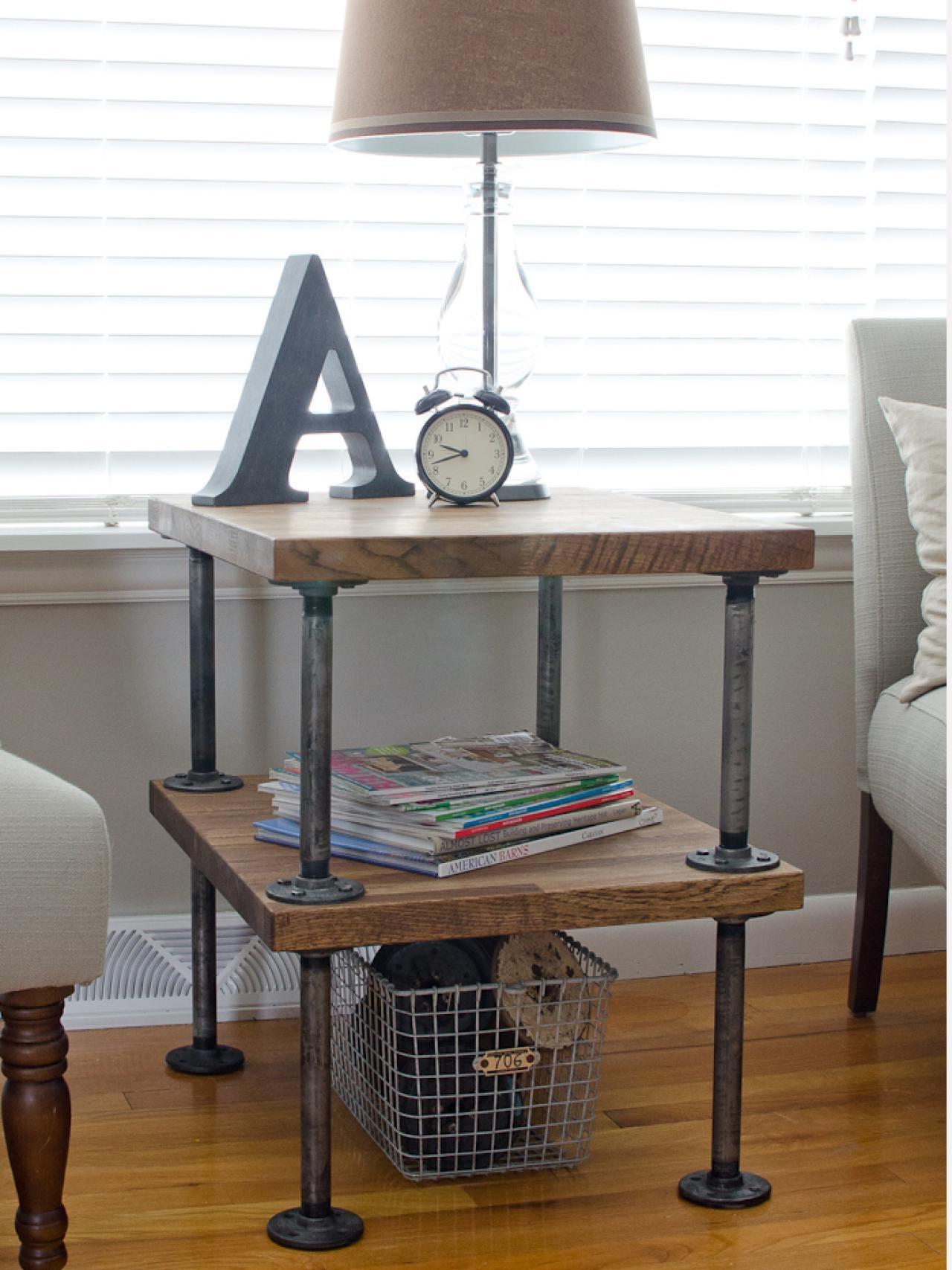 Beau Small Table With Shelf