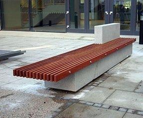 Brilliant Concrete Park Benches Ideas On Foter Beatyapartments Chair Design Images Beatyapartmentscom