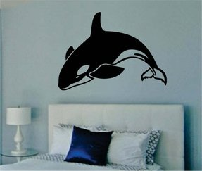 Surfing wall stickers