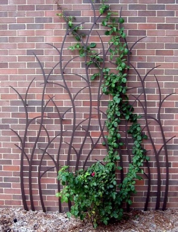 Tall Garden Trellis 1