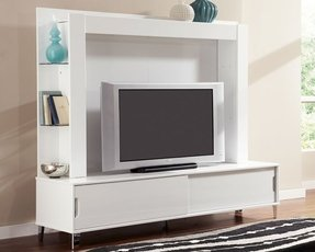 Tv Stand With Back Panel Ideas On Foter