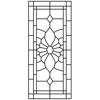 Victorian stained glass panels 1
