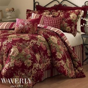 Waverly ballad bouquet bedding collection