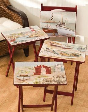 Nautical Tv Trays Ideas On Foter