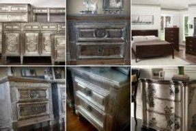 Aluminum bedroom furniture