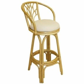 Bamboo Stools Tropical Outdoor Furniture Bar