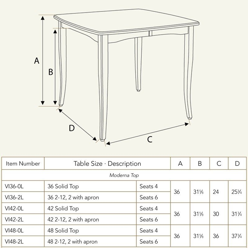 Good Bar Table Dimensions Vienna Pub Table Vi42 0l