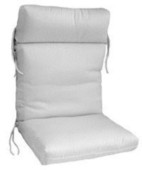 Cartridge chair cushion high back cc2248