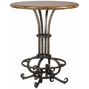 Cast iron pub table