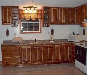 Cedar Kitchen Cabinets 1