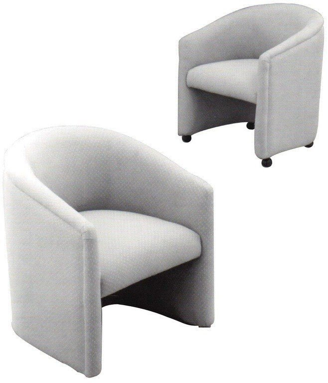 Gentil Classic Accent Barrel Chair