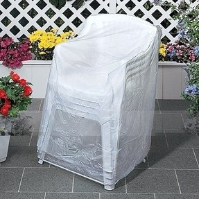 Clear patio furniture covers