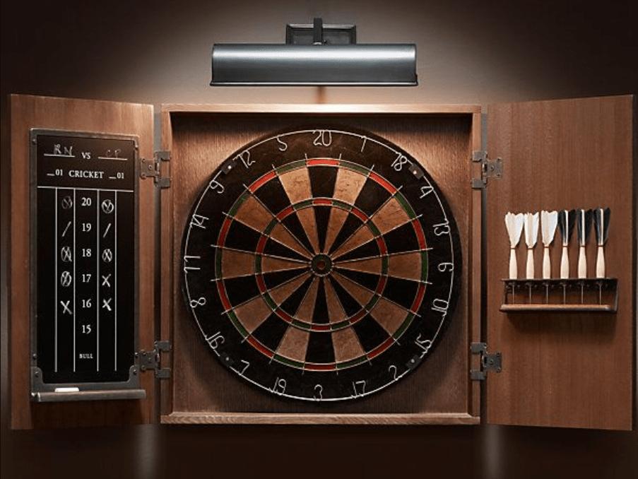 Dartboard Cabinet Set