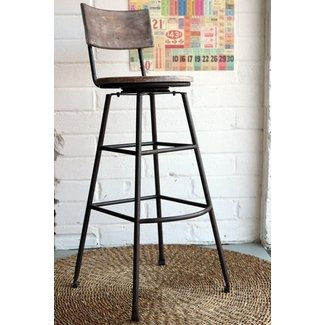 Extra tall iron bar stool industrial bar stools and kitchen