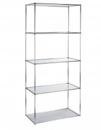 Awesome Free Standing Glass Shelves Good Looking