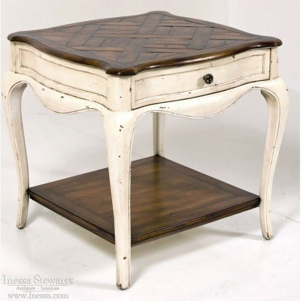 Superieur French Country End Tables 6