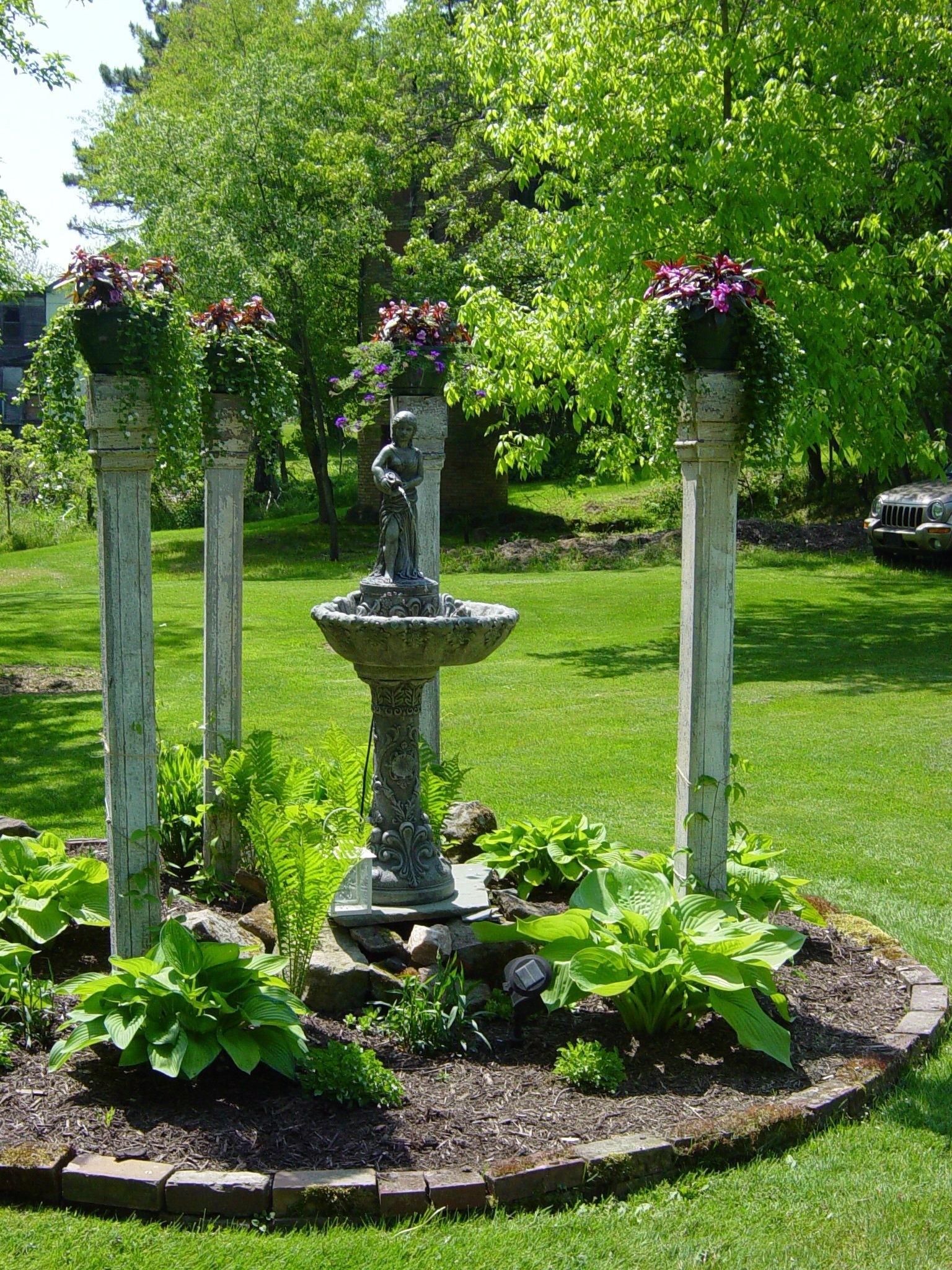 Gentil Garden Columns Pedestals 7