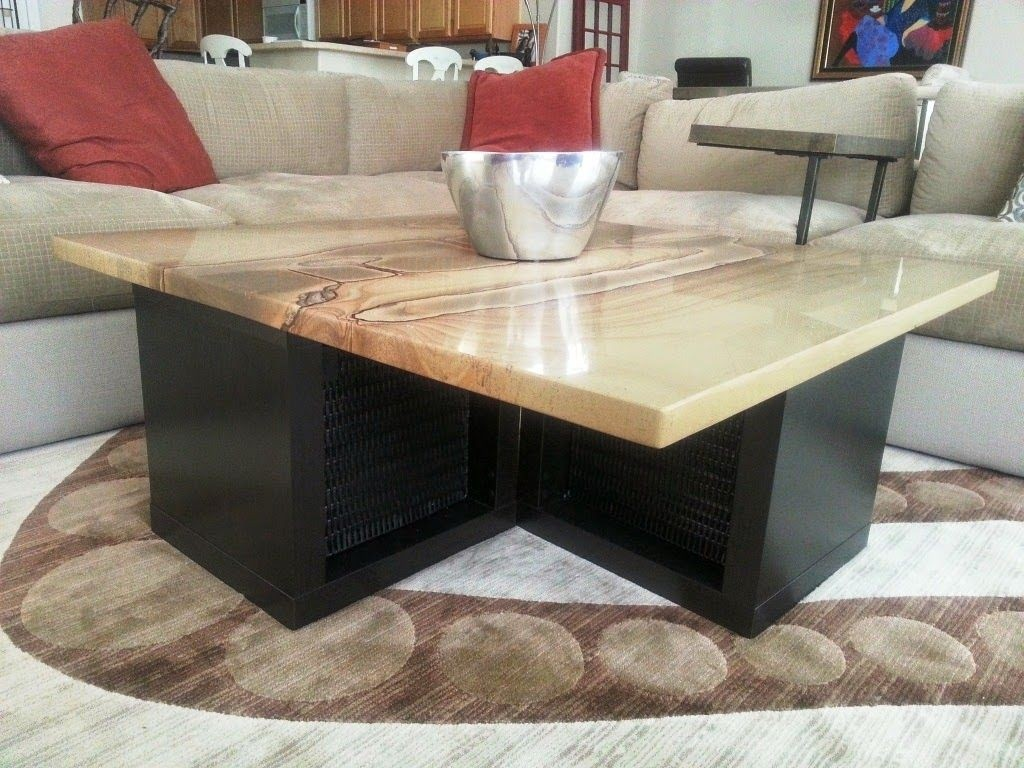 Carmine Faux Marble Coffee Table: Granite Top Coffee Table Sets