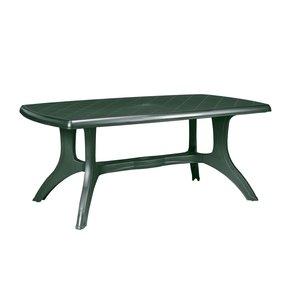 Green plastic garden table credainatcon green patio tables foter watchthetrailerfo