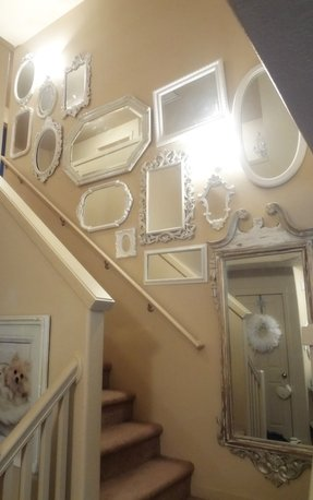 Illuminated wall mirror 23