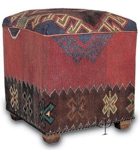 Stupendous Kilim Ottomans Ideas On Foter Andrewgaddart Wooden Chair Designs For Living Room Andrewgaddartcom