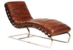 Awesome Leather Chaise Lounge Chairs Ideas On Foter Pabps2019 Chair Design Images Pabps2019Com