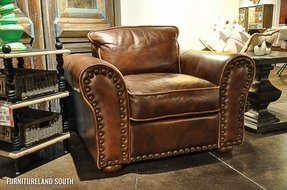 Leather Sofas With Nailhead Trim 3