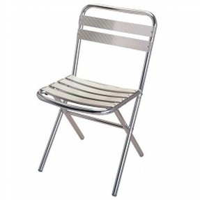 Admirable Aluminum Folding Chairs Ideas On Foter Machost Co Dining Chair Design Ideas Machostcouk