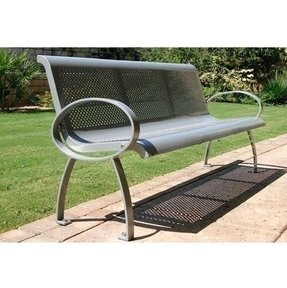 Metal outdoor benches 3