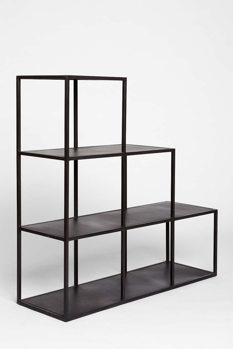 Open cube bookcase