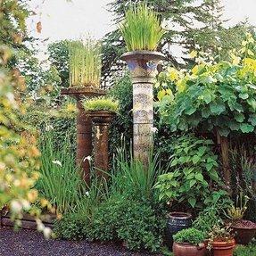 garden pillars. Plaster Pillars Or Columns Garden