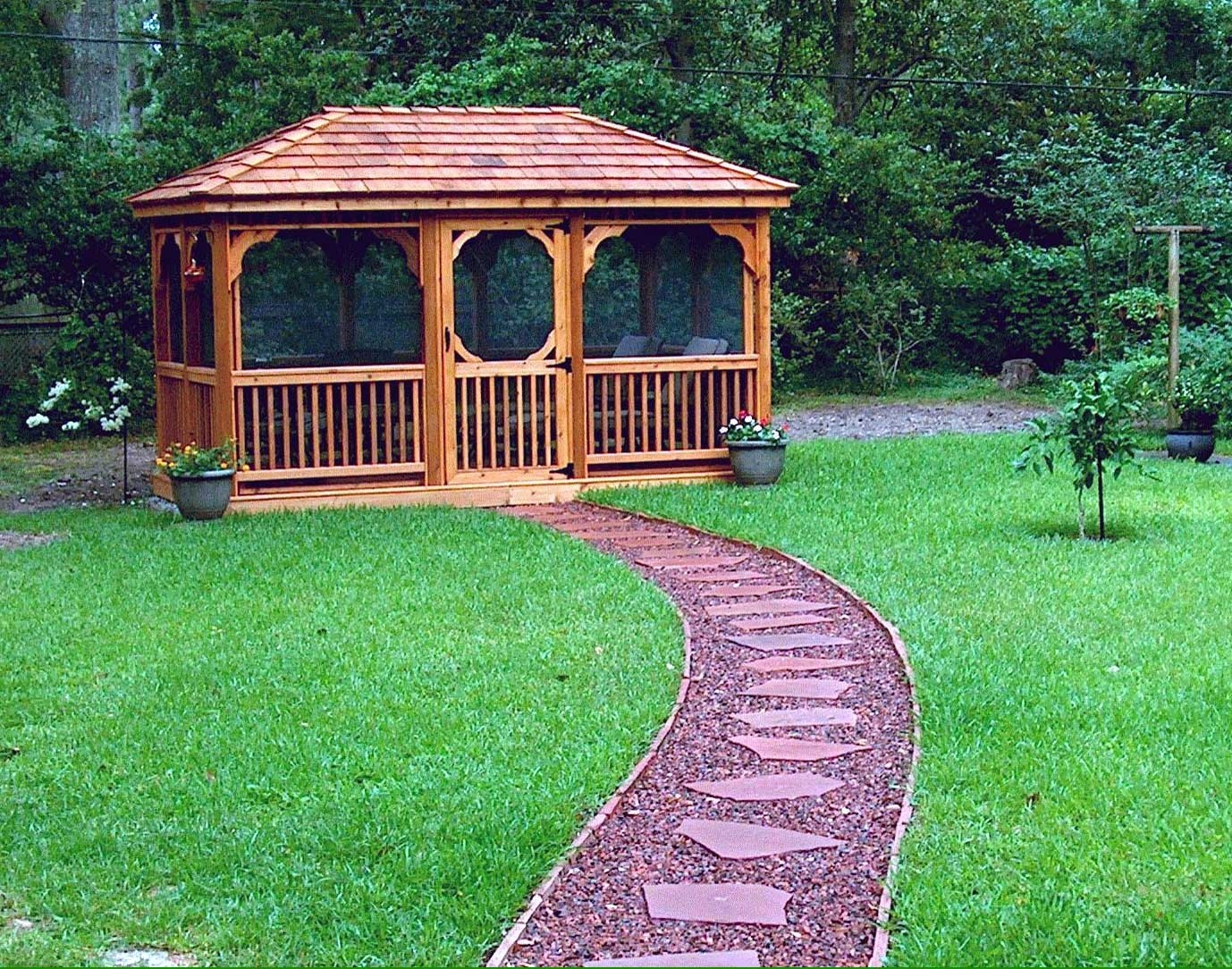 Screened Gazebo. Screened Patio Gazebos 8
