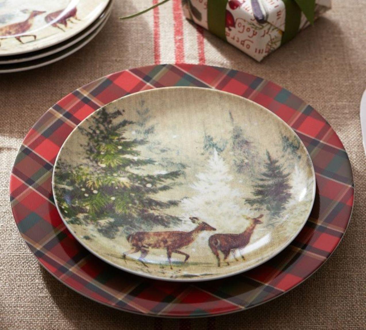 Set of 4 decorative plates 4 & Set Of 4 Decorative Plates - Foter