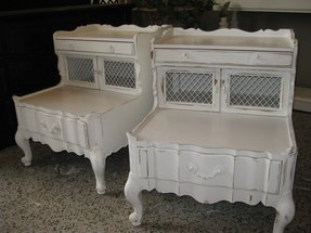 Shabby chic accent tables
