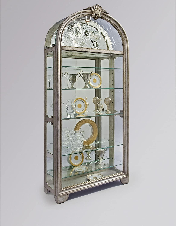 Silver Curio Cabinets 15