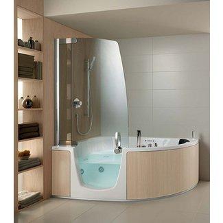 Soaker Tub Shower Combo Small Bathtubs