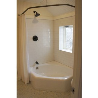 Shower Over Corner Bath corner bathtub shower - how to choose the best? - foter