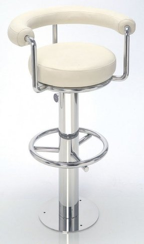 Steel round bar stools 5