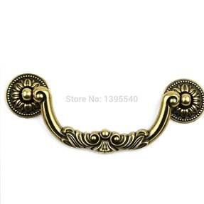 Temax Antique European Style Drawer Handles S Bars
