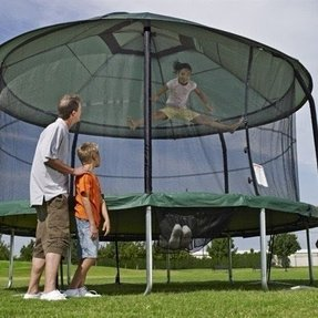 Trampoline protective cover