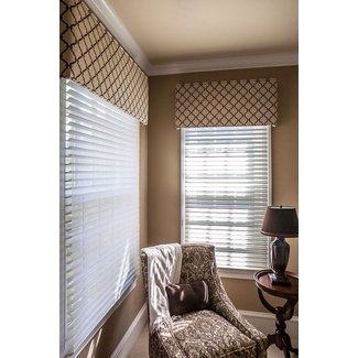 Valances for wide windows
