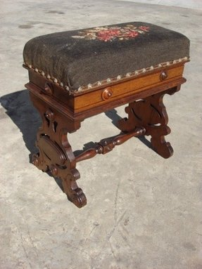 Prime Antique Footstools Ideas On Foter Dailytribune Chair Design For Home Dailytribuneorg