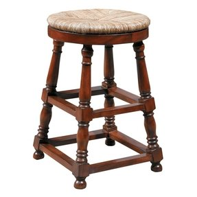 Turned Leg Bar Stool Foter