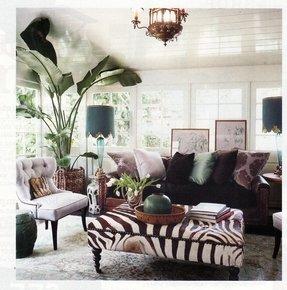 Zebra Ottomans - Ideas on Foter