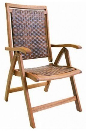 5 Position Folding Arm Chair Foter