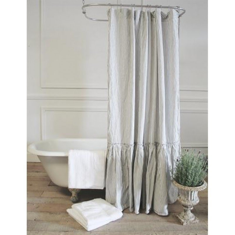 Superieur Extra Long Fabric Shower Curtain   Ideas On Foter