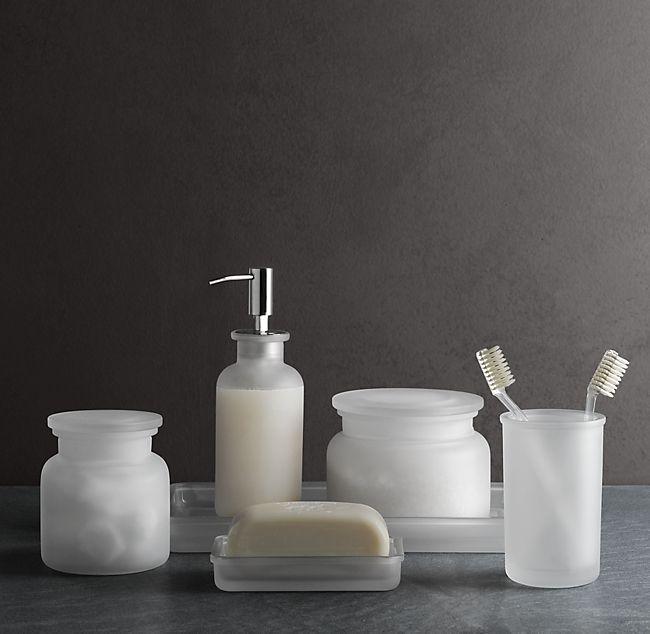 Aqua Glass Bathroom Accessories