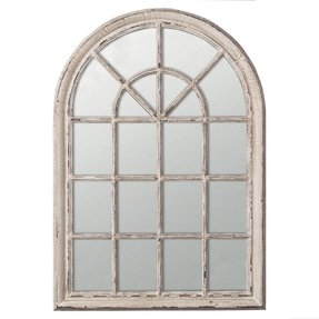 Arched window frames