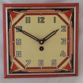 Beautiful Art Deco Wall Clocks 8