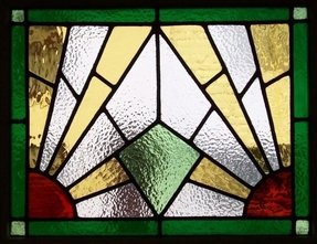 Art glass panels for windows 4